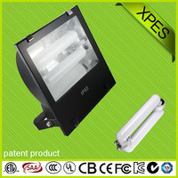 wide voltage waterproof football/basketball field adjustable 80w-250w induction flood light