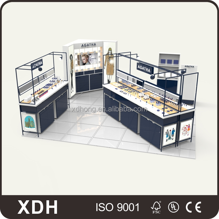 Hot selling storage cosmetic product display stands