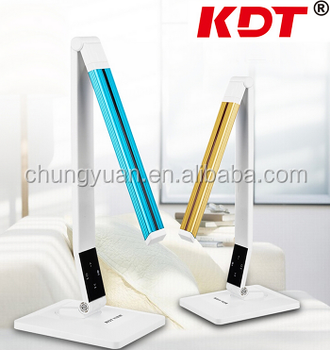 2017 hot sale touch swith LED reading lamp table lamp with USB charging port