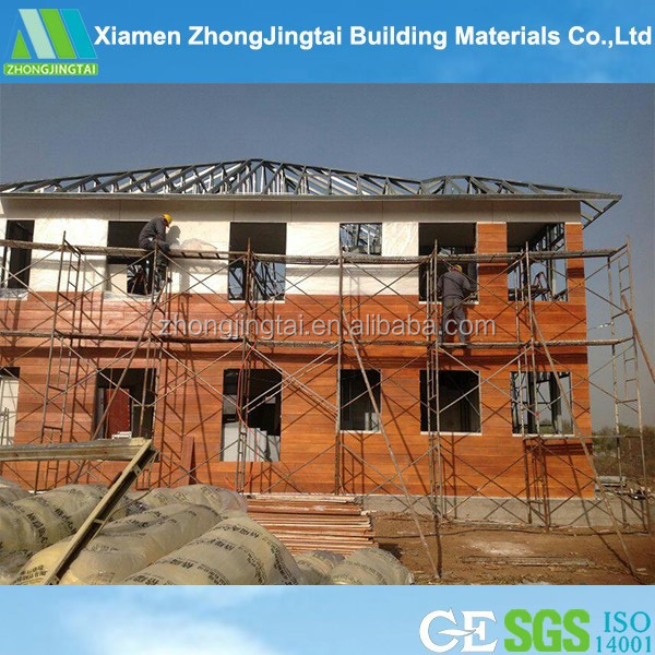 light steel structure luxury prefab house building prefabricated modular homes md