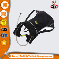Black rucksack backpack bag hydration use