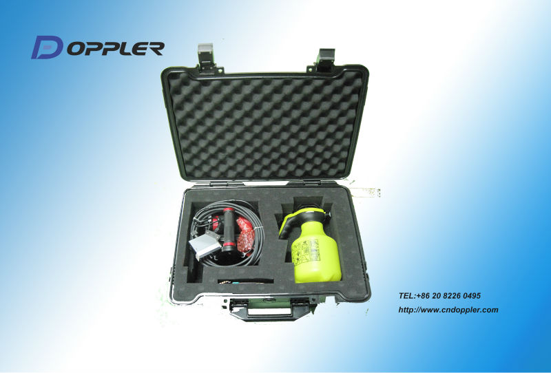 corrosion Inspection-Doppler phased array ultrasonic laser guide wheel probe