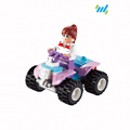 popular fashion mini plastic funny bricks girls toys set for active intelligence