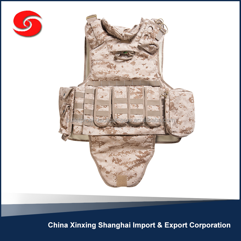 Cheap Prices Body Armor Bullet Proof Vest Carrier Supplier