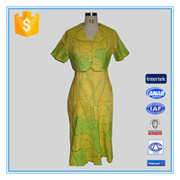 Hot sale lotus leaf embroidery sexy dress collar neck designs for ladies suit
