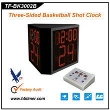 Three side basketball shot clock/ wide LED screen timer
