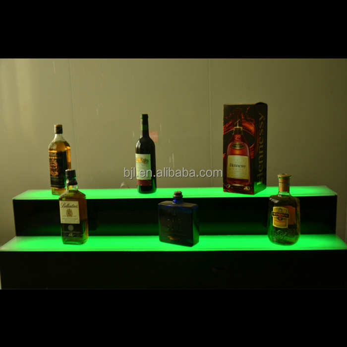 night club furniture colour changing led used commercial bar wine rack