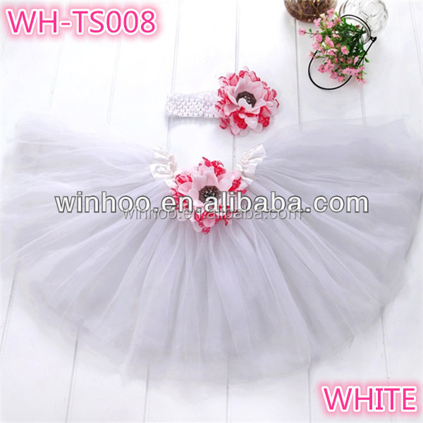 Princess tutu set simple tutu dresses baby girls dresses flower tutus