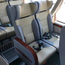 leather fabric seat be used for coach bus for sale JLC04