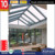 Top quality stylish aluminum glass sunroom