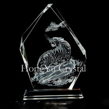 new 3d laser crystal engraving blanks and cutting