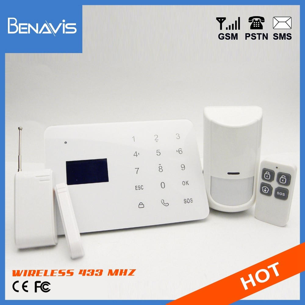 Best Price CE Certification Support custom logo wireless 433 mhz alarms sistems home