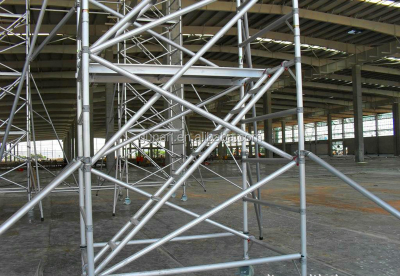 hot sale aluminum scaffolding,mobile frame scaffolding for construction