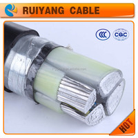 YJlV22 AL 4 cores Low voltage Steel Tape Armored Electric Power Cable