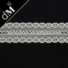 machine embroidery designs crafts wholesale crochet cotton lace trimming CTR0201
