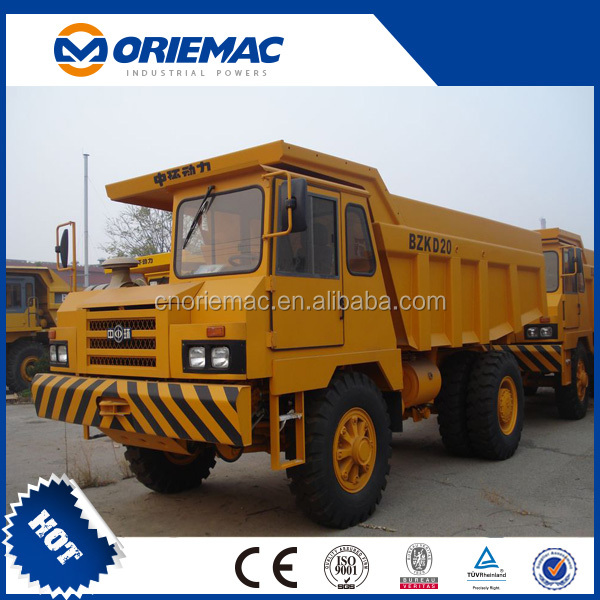 BZK china mining dump truck off road mining dump trucks D20