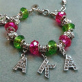 Alpha Kaa Alpha AKA Bead Bracelet With Extend Chain