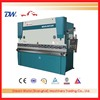 INT'L Brand-SLMT WC67K cnc hydraulic bender machine , bender machine steel sheet , automatic metal sheet bender machine