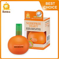 Simba Noisefree Diary Natural Anti Mosquito Repellent Lotion Spray