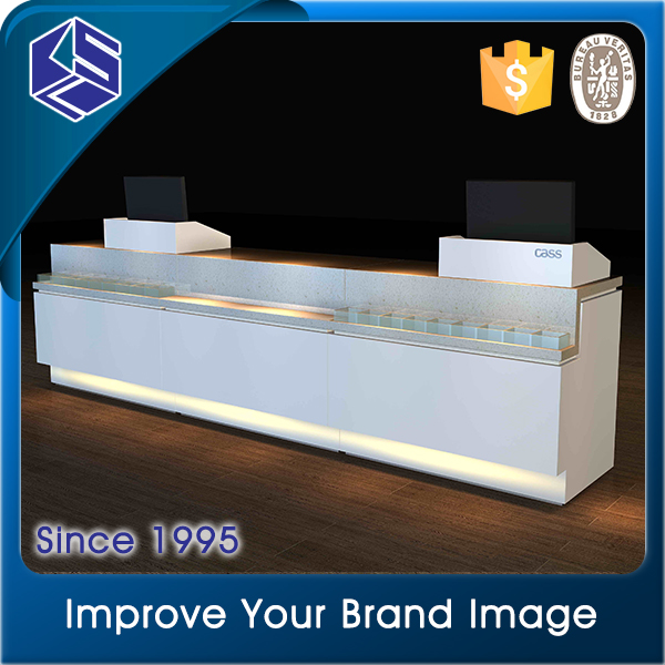KSL new design shop furnituture design retail store MDF checkout counter