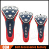 USA Stars Custom Made Golf Head covers Available in Driver, Fairway, Hybrid