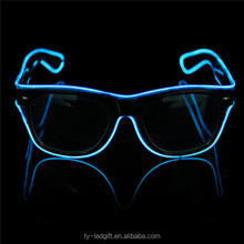 Flashing cheap led sunglasses party supply led sunglasses