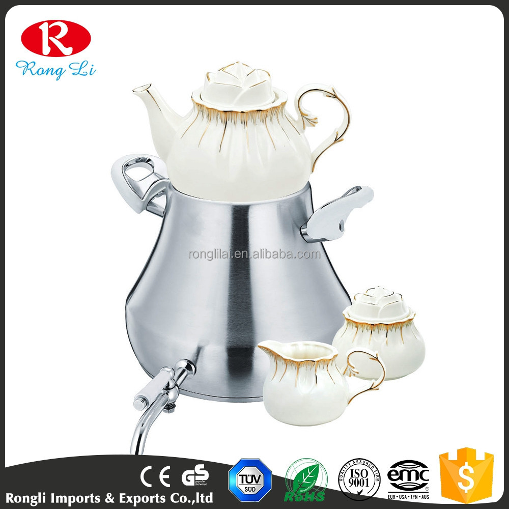 Latest new model high quality coffee unique kettles tea kettle set