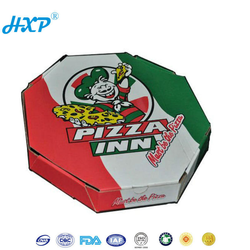 China alibaba recycled round pizza box wholesale
