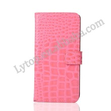 Crocodile Design Pink Cute Case For Samsung Galaxy Note 5 Edge, Cell Phone Stand TPU Insert Cover for Samsung Note5 Edge