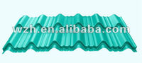 ISO certified corrugated color roofing sheets exported to Turkmenistan and Russia