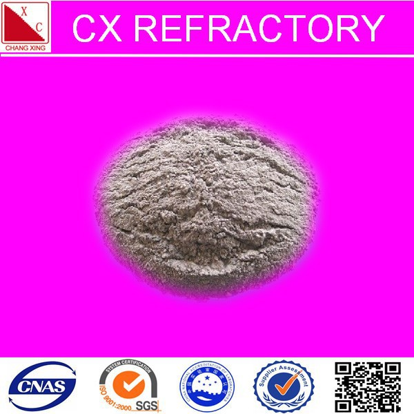 refractory mixer low cement castable material