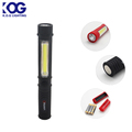 Handheld Hands Free by Clip Pen Shape Pocket Small Size COB Cheap LED Work light