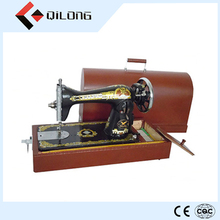 Household sewing machine box for sewing machine wooden case