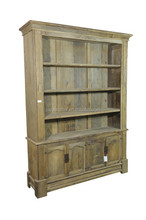 Cheap European Style Antique furniture recycled wood bookcase, old solid wood bedroom furniture