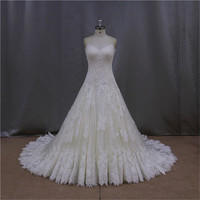 Plus size transparent newset wedding dresses country style