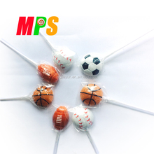 Ball Shaped Handmade Confectionery Lollipop for Sale