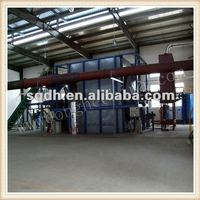 Full Automatic Scrap Tyre Pyrolysis Recycling