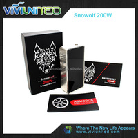 2016 Great desigh snow wolf mini 90w newest desigh 90w snow wolf mini e-cigs mod gols snow wolf 200w wholeasale