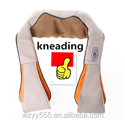 Car / Home Furnishing kneading massage according to neck massager shoulder massage shawl infrared heating