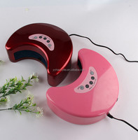 12W better led nail uv lamp led gel lamp with auto sensor and setting timer