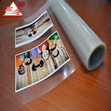 150um PET Film Clear Crystal Cold Laminating Roll Film For Photo