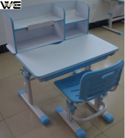 Cheap adjusting flexible kids foldable study table furniture