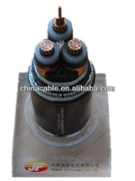 8.7/15 kV Cu Conductor XLPE insulated steel wire armored PVC sheathed Power Cable