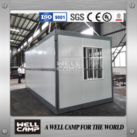 Wellcamp flat pack prefab expandable container house