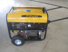 WH7500 6kw air-cooled gasoline oil sound proof generator
