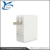 25W 4-Port USB Wall Home Travel Charger Power Adapter, Multi-Port USB Charger SmartID & with Foldable Plug for iPhone 6s / 6