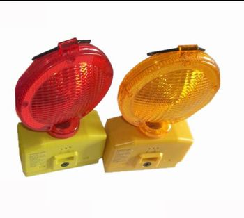 Road Construction CE Battery Powered Blinking Led Lights