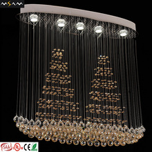 Modern luxury crystal chandelier pendant lamp plastic crystal chandeliers