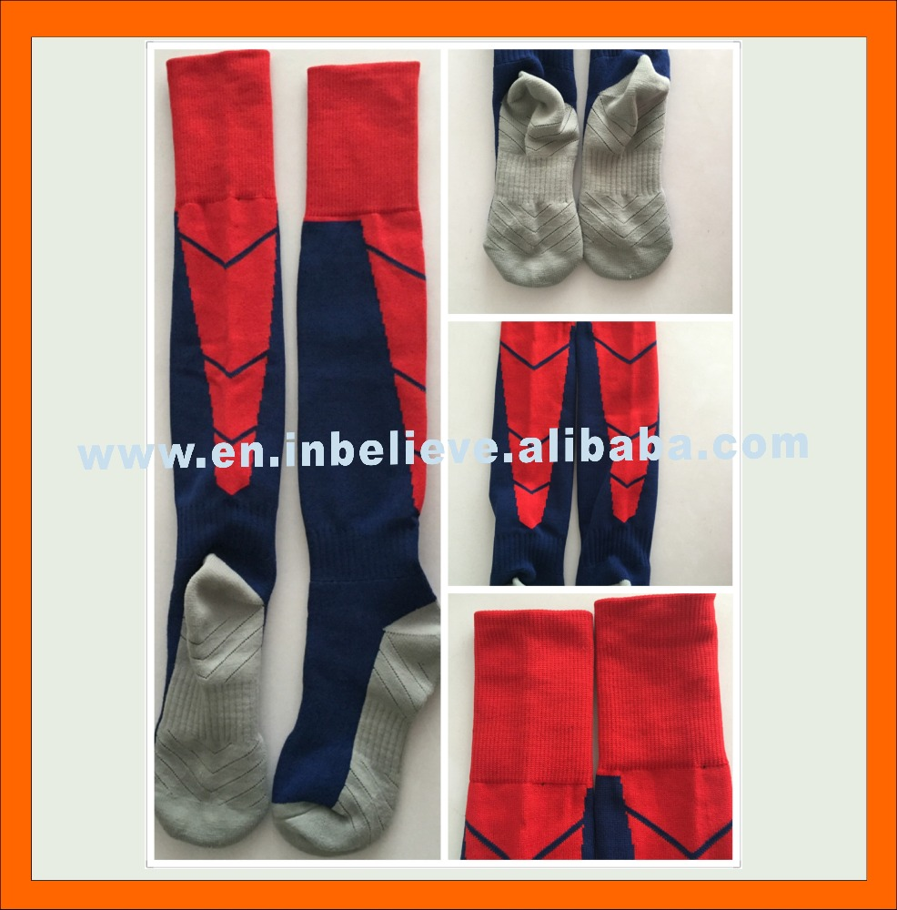 custom top quality professional club soccer socks
