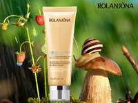 wholesale rolanjona beauty whitening moisturizing snail extract face cleanser